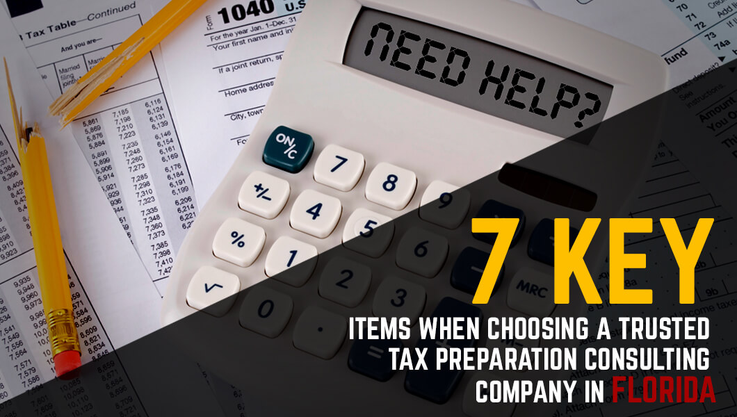 Tax Preparation Consulting Company in Florida